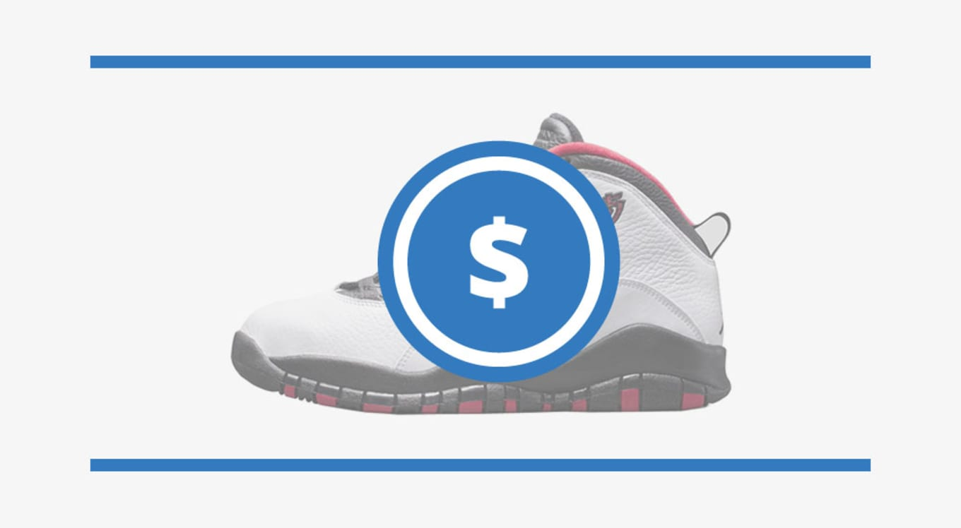 4316a3a88a32c5 The Air Jordan 10 Price Guide