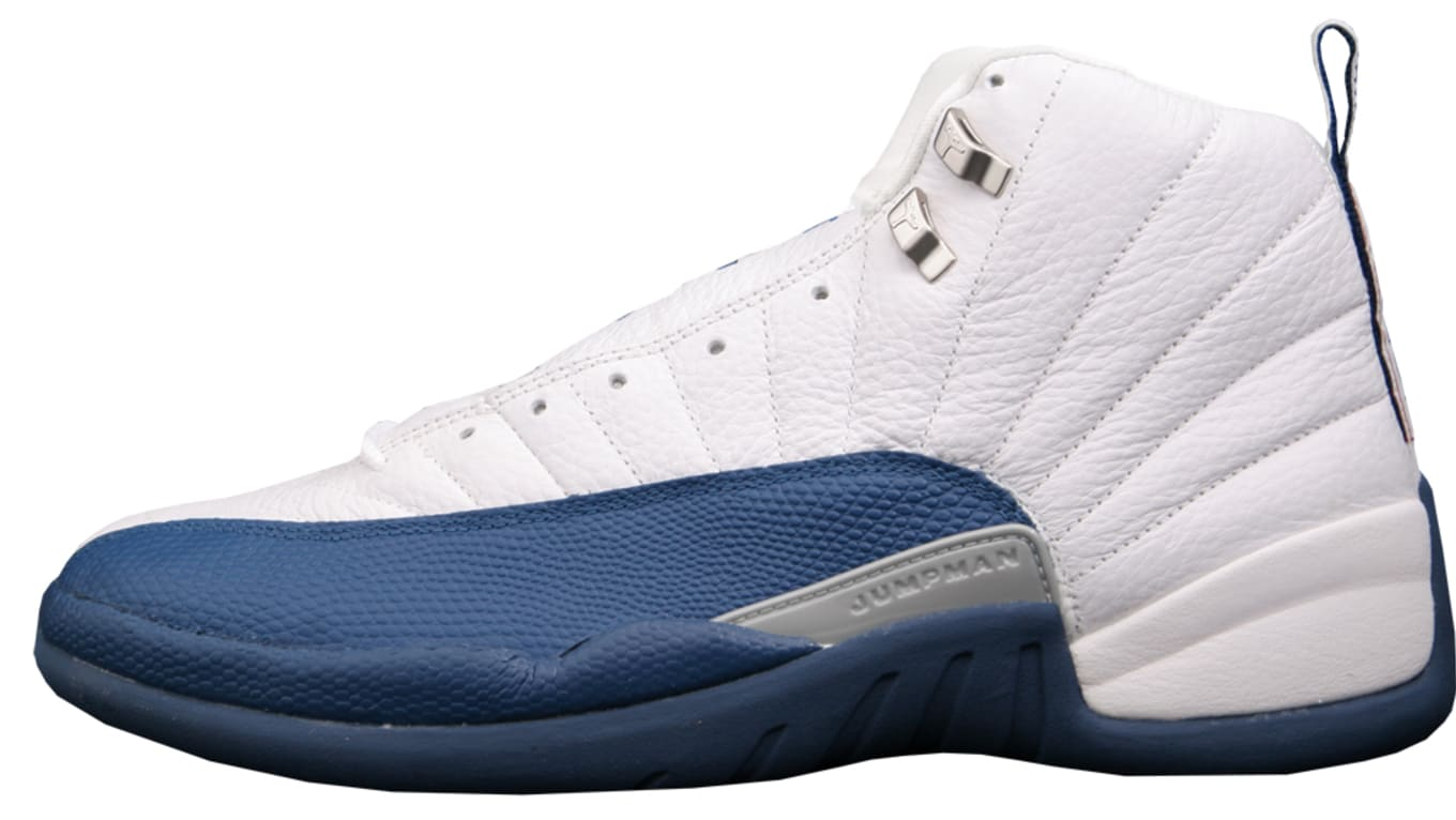 ac2f663316ed Air Jordan 12 Retro  French Blue  136001-141. White French Blue-Metallic  Silver-Varsity Red