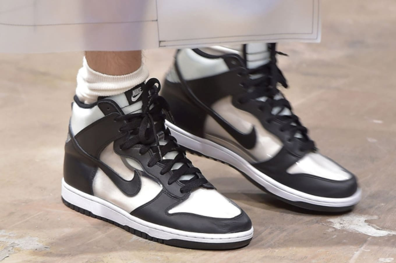 38a86a19283a Nike Dunk. Images via Footwear News
