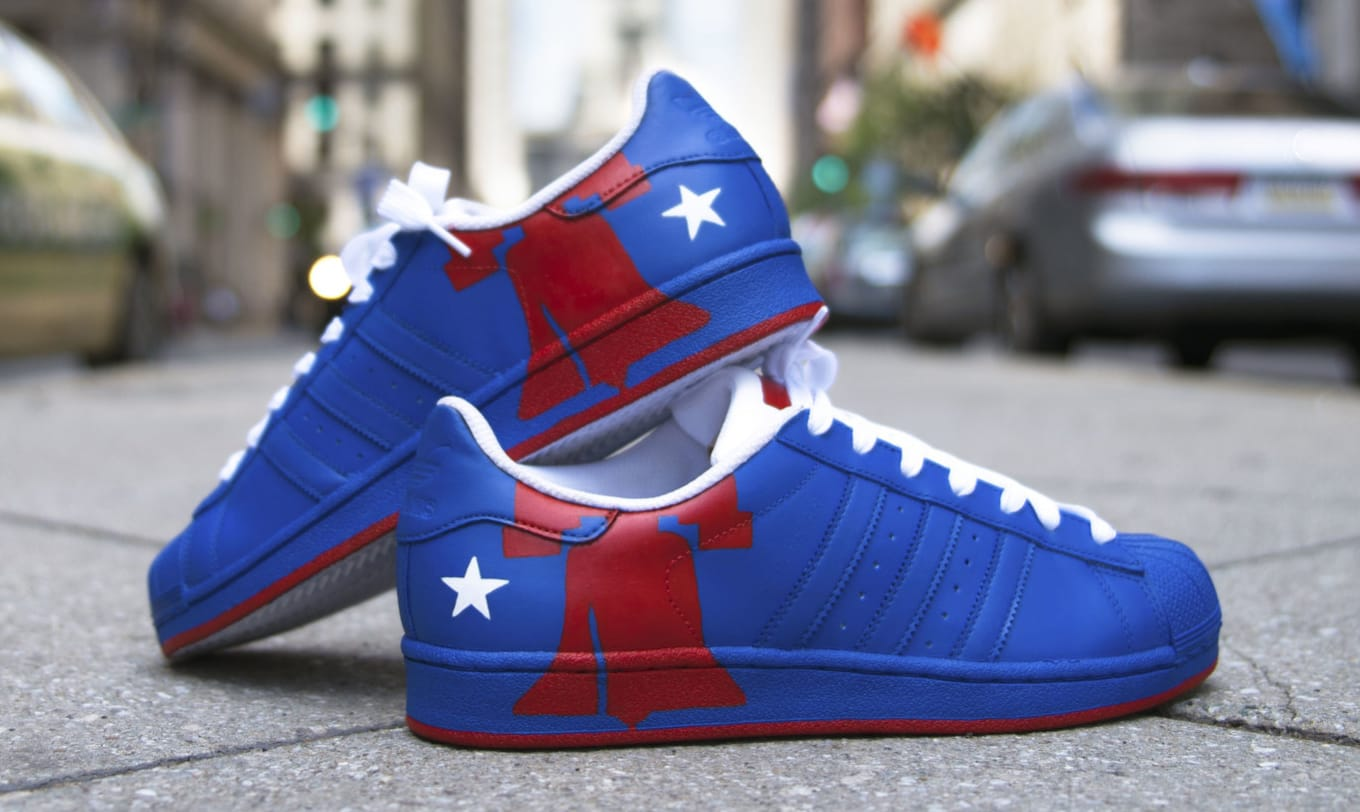 39e87e6af610 Philly flavored shoes celebrate the Democratic National Convention.