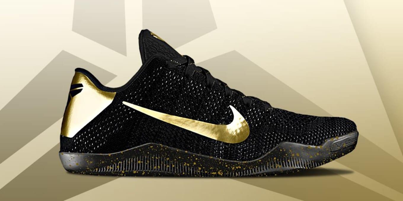 buy online 8366a 1a27b Kobe 11 Black Gold