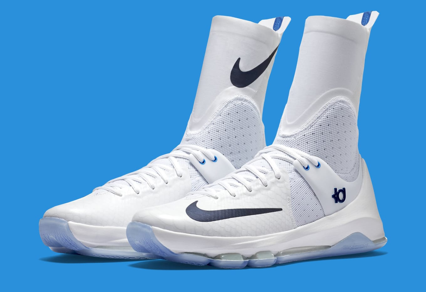 74feac2df2b6 Nike KD8 Elite Men Nike KD 8 High Sea blue ...