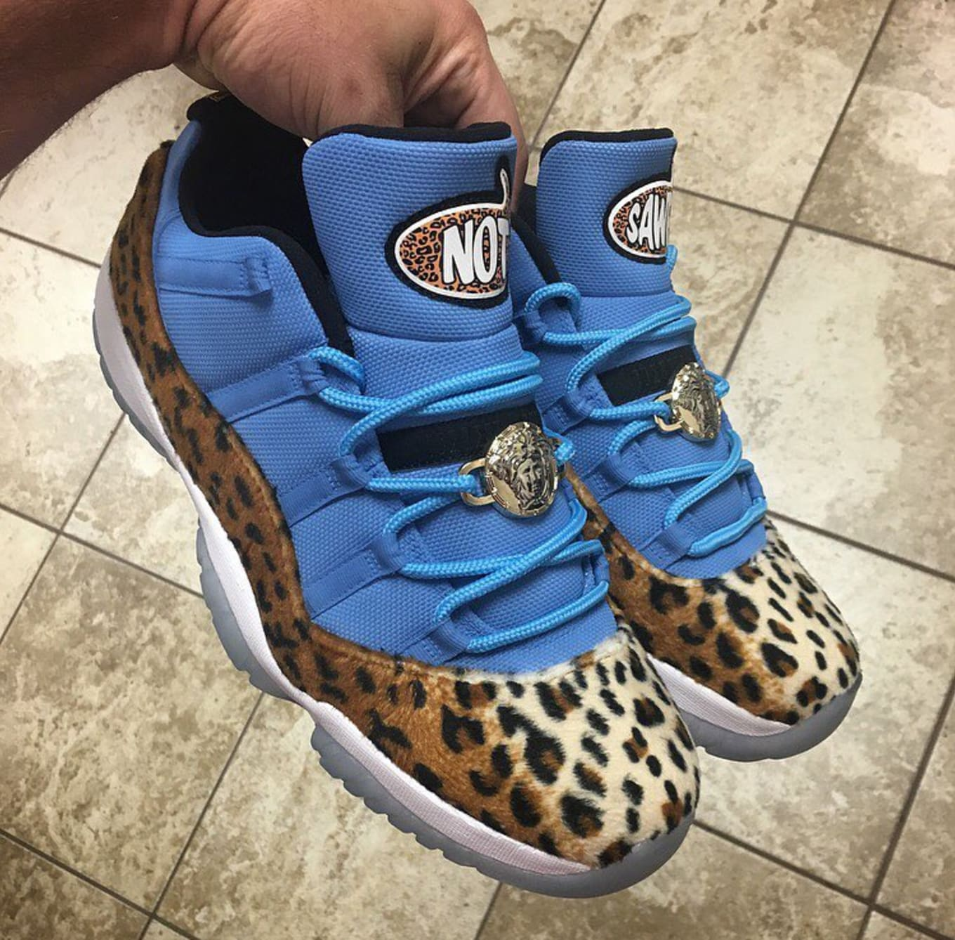 Enzo Amore Air Jordan 11 Low Sole Collector