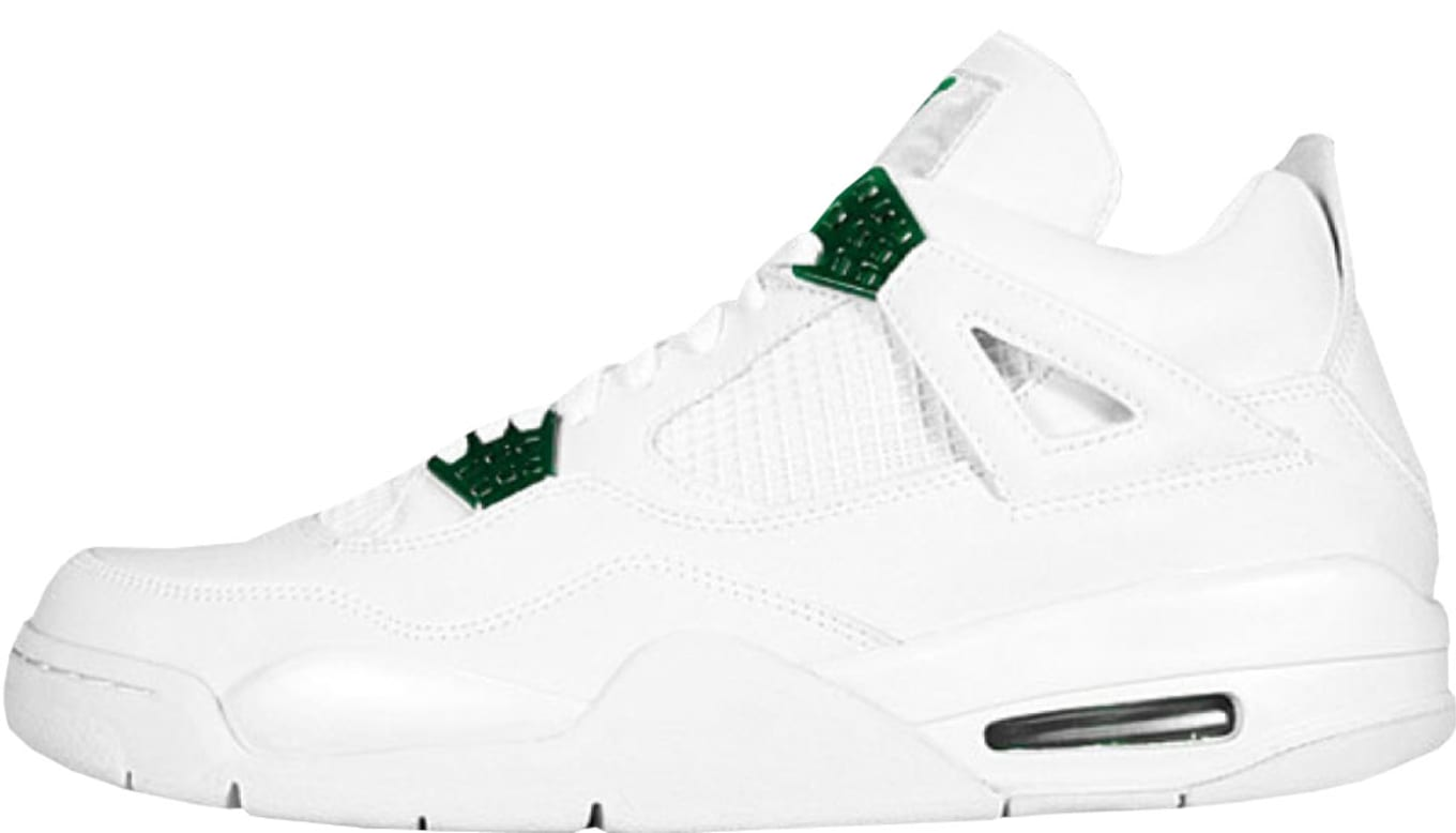 the latest afec9 8a8b2 Air Jordan 4 Retro  Classic Green
