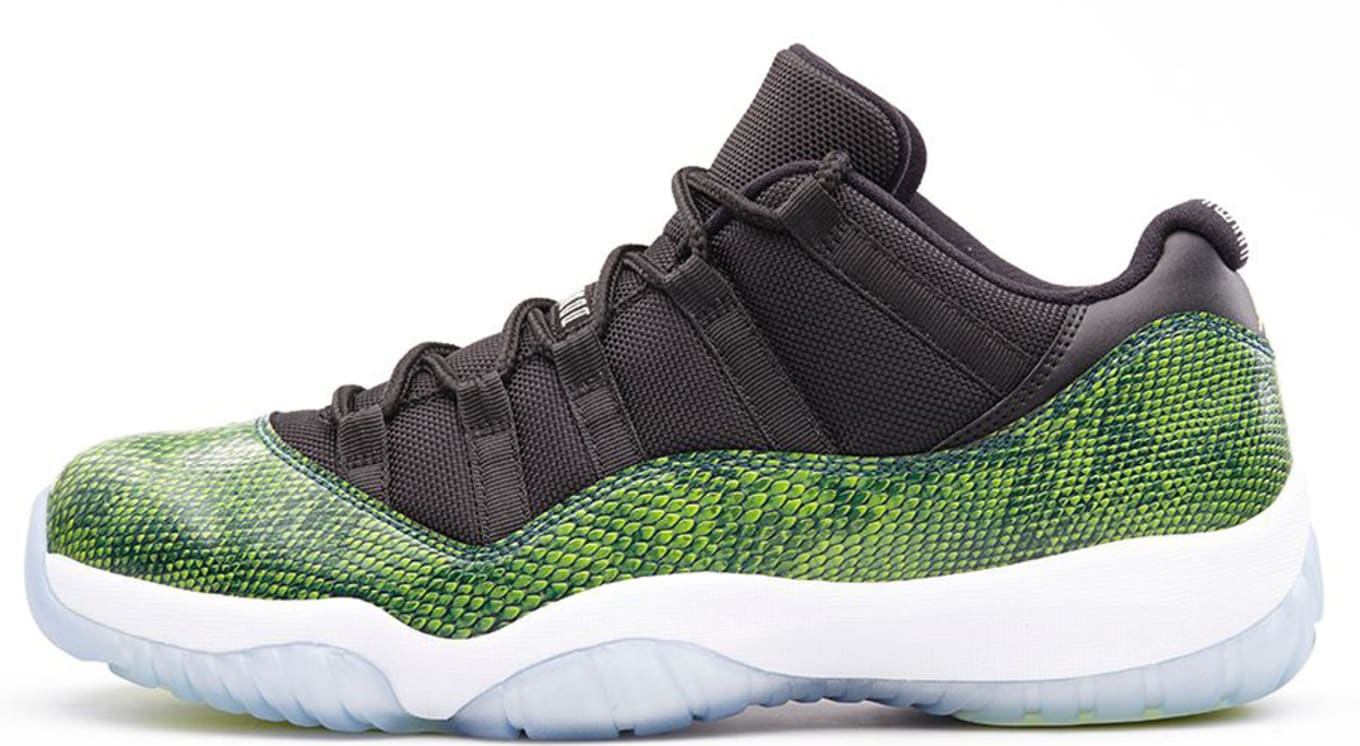 56fec85eb24 Air Jordan 11 Retro Low Snake Black Nightshade White Ice