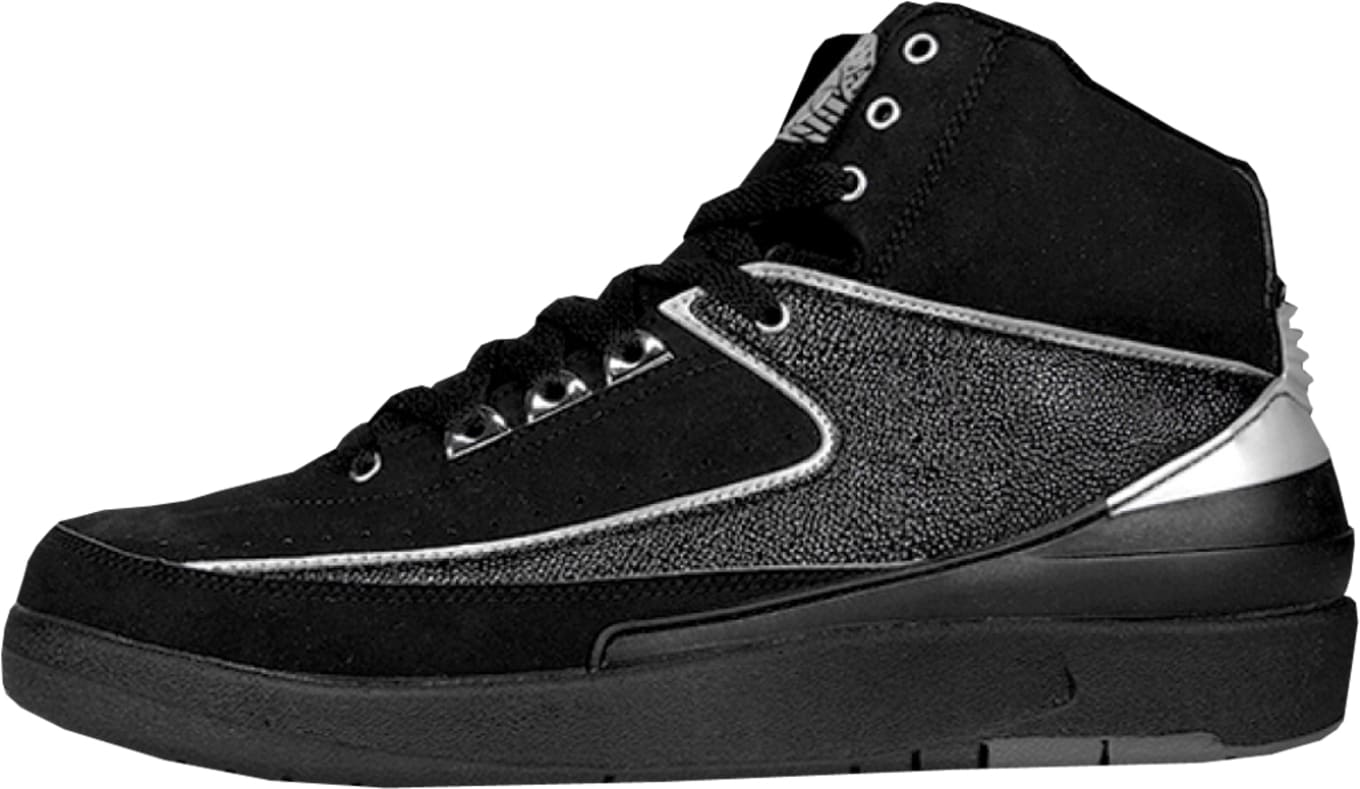 hot sale online 2ce61 385b2 Air Jordan 2 Retro Black Chrome 2004