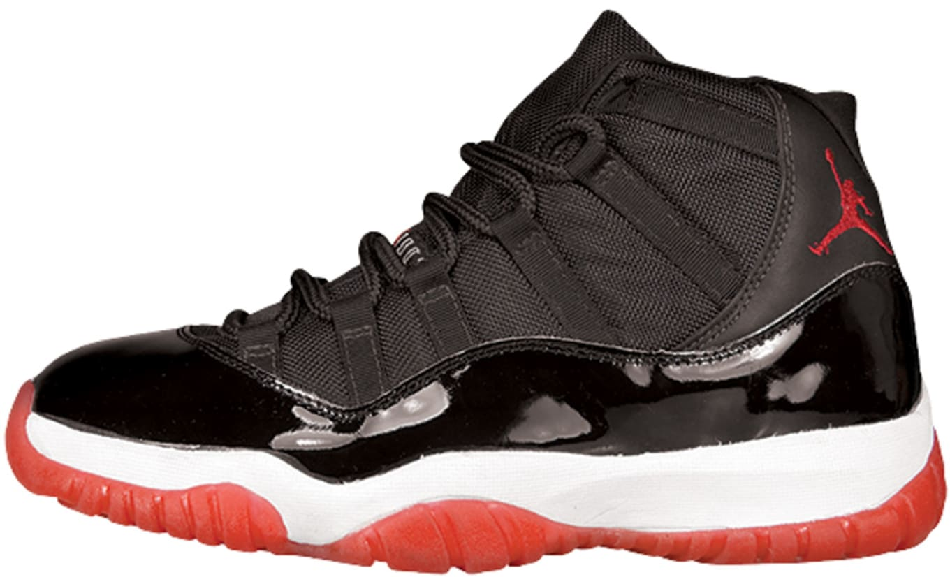 ec164313beac Air Jordan 11 (XI). Colorway  Black True Red-White