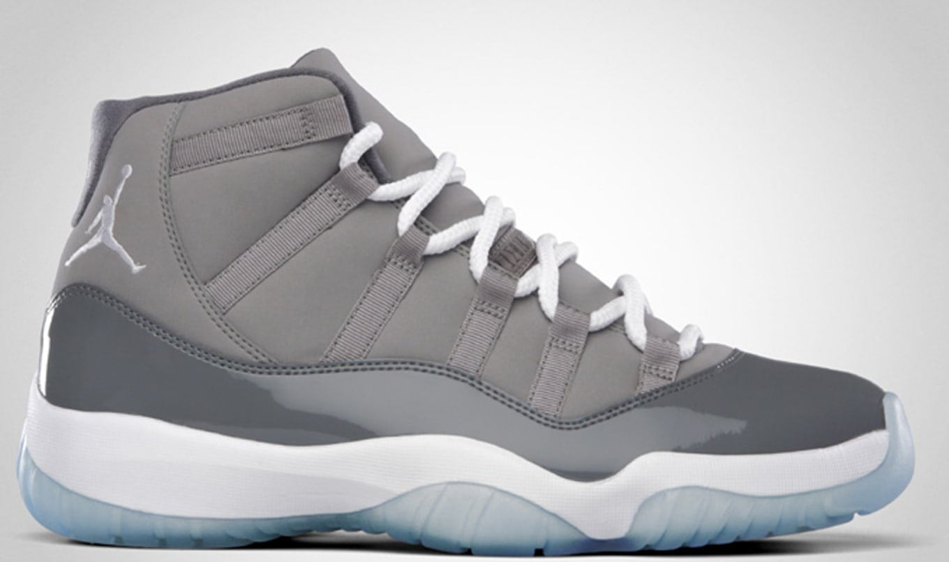 new arrival 9d81d bd035 Air Jordan 11 Retro Medium Grey White Cool Grey