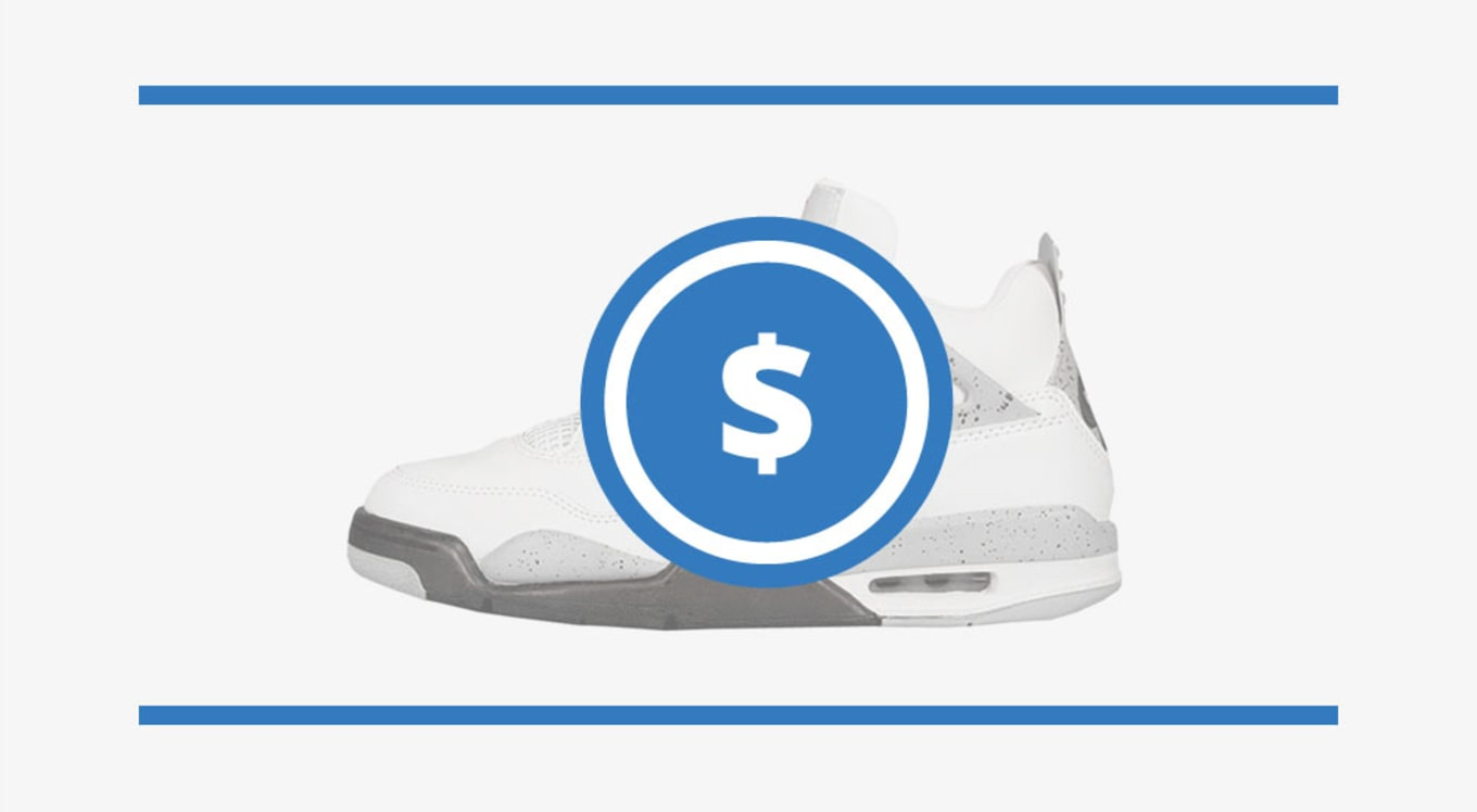3c18809448db The Air Jordan 4 Price Guide