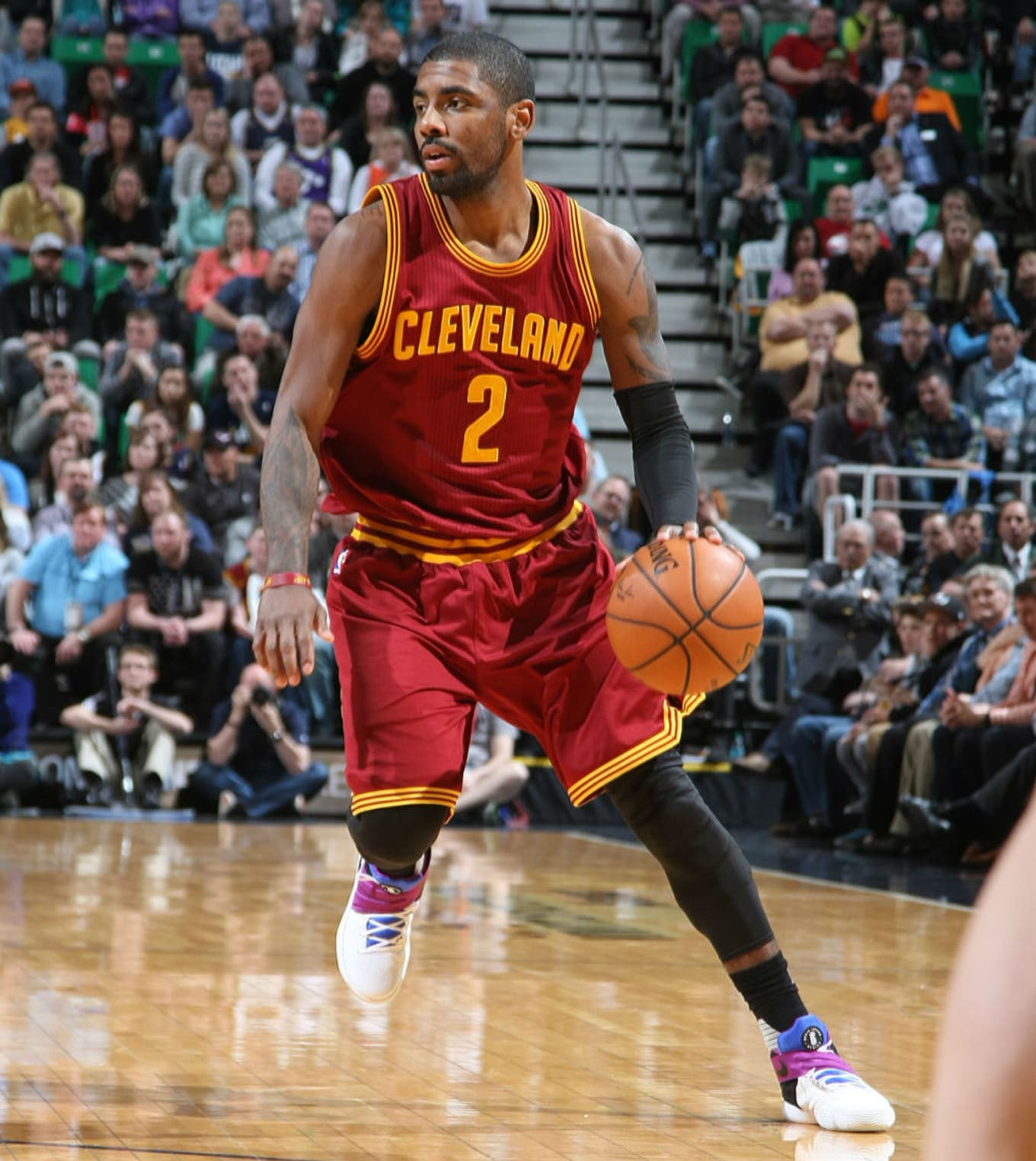 huge selection of 01257 66b76 #SoleWatch: Kyrie Irving Debuts a Huarache-Inspired Nike Kyrie 2