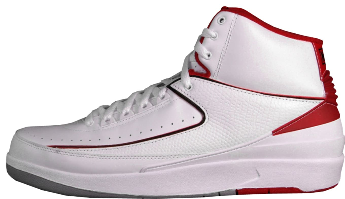 save off cc75e a834d Air Jordan 2 Retro CDP White Varsity Red Neutral Grey