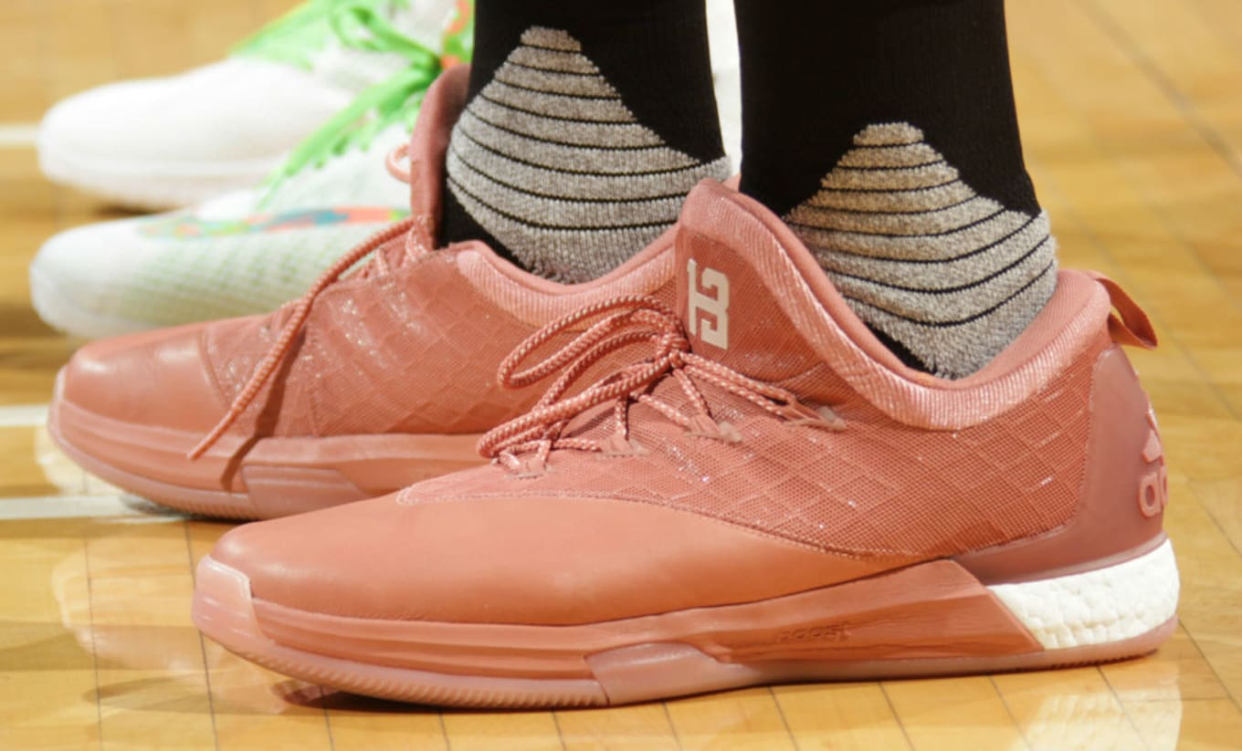 nice shoes 4a066 3c12f James Harden Wears the
