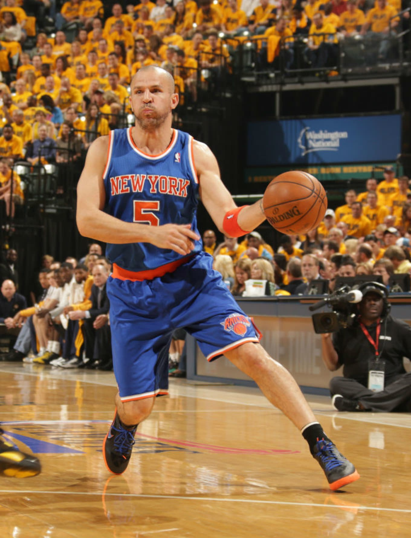 los angeles 878d7 4be8a Jason Kidd Wearing the Nike Lunar Hypergamer Low