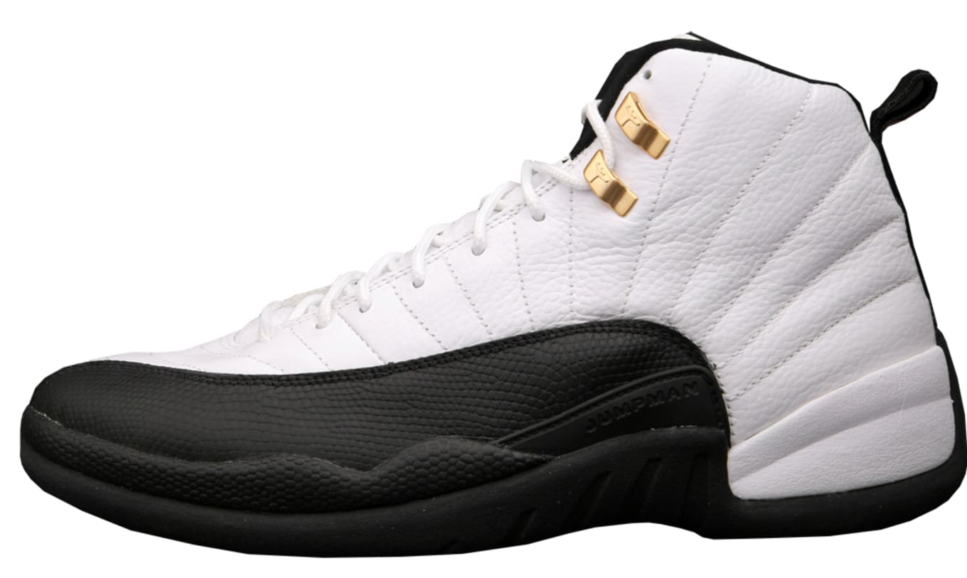 innovative design 53661 7761c Air Jordan 12 Retro Collezione  CDP  130690-109. White Black-Taxi