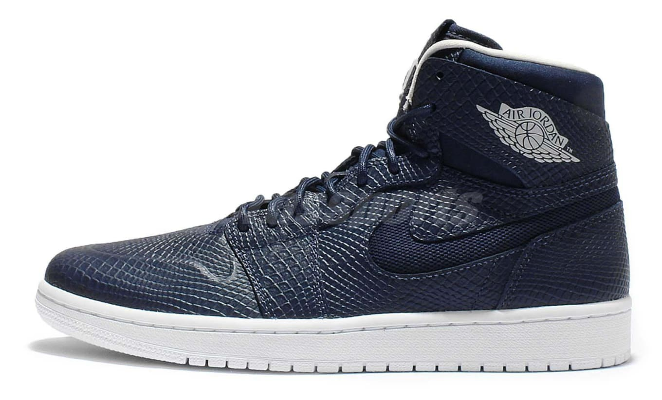 hot sale online 53eec d40cb Snakeskin Returns to Air Jordan 1s. Via the Nouveau build.