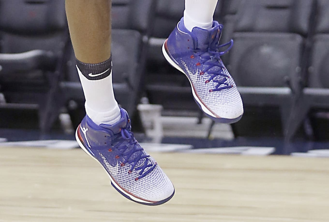 ede5a725072 Jimmy Butler Debuts New Jordans at Practice. Another red
