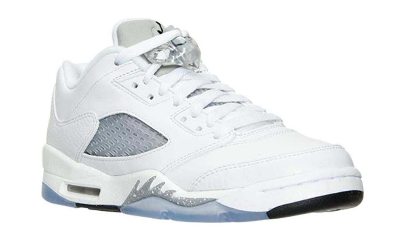 82facf9d900 Air Jordan 5 Low White Wolf Grey | Sole Collector