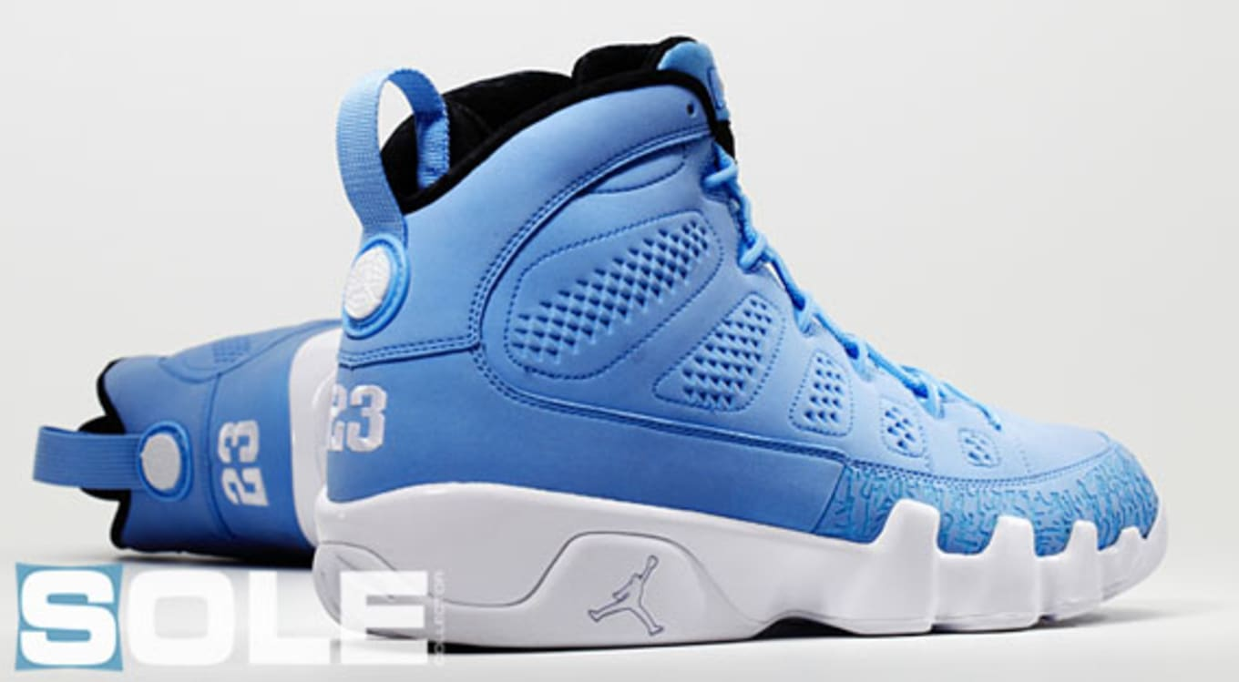 pretty nice 93758 f6694 Air Jordan 9 Low Blue White | Sole Collector
