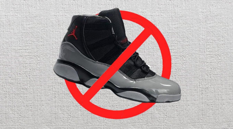 separation shoes b695c e3a75 Disrespectful Fake Air Jordan   Sole Collector