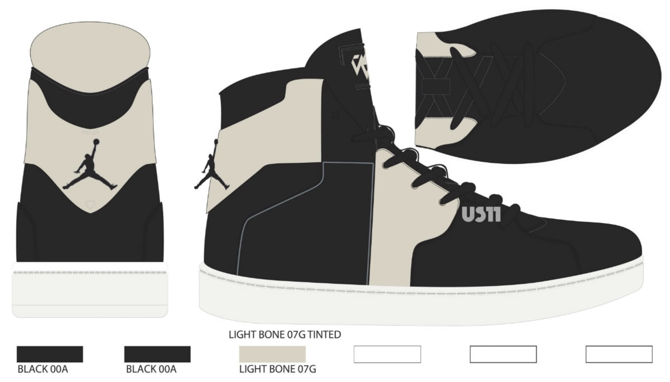 5949b71840c Jordan Westbrook 0.2 Black/Light Bone