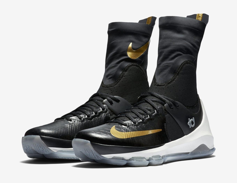 aa8fdb3d29df Nike KD 8 Elite Black Gold