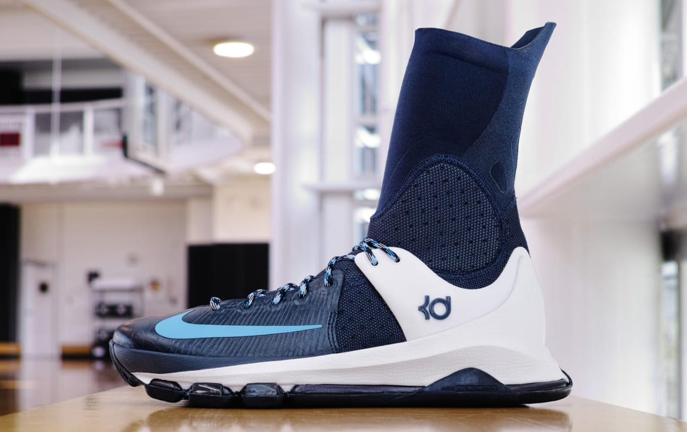 bdb278988fa Nike KD 8 Elite Blue White