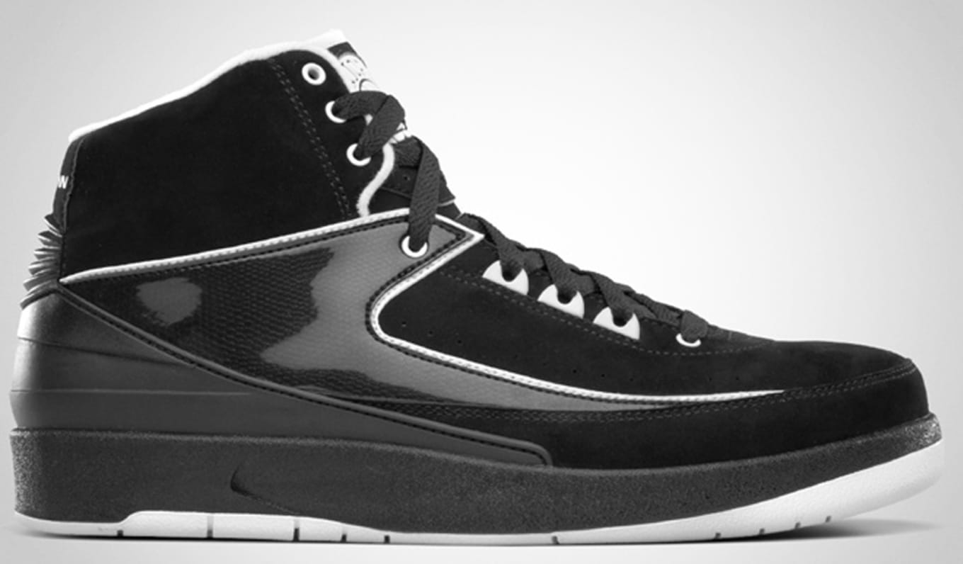 newest collection 12efc 074d1 Air Jordan 2 Retro QF Black White