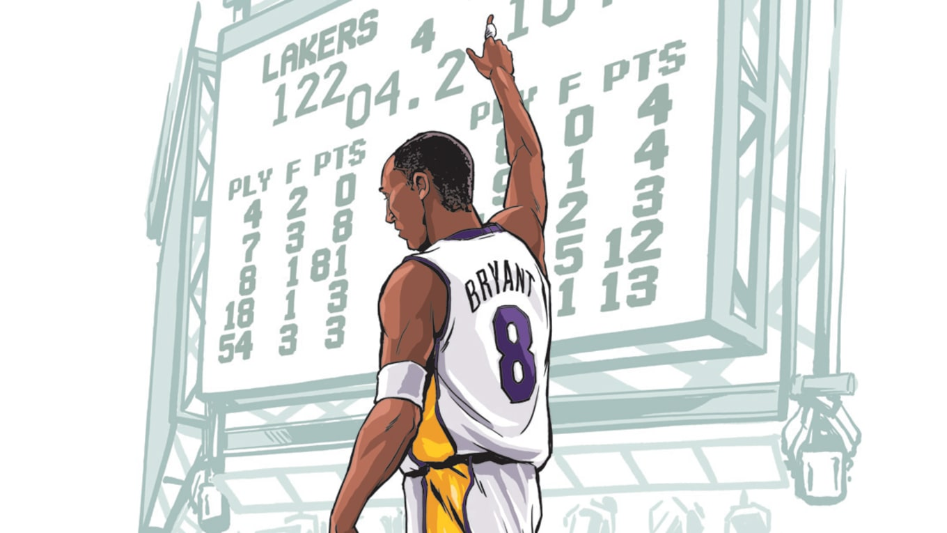 888e3f2c195 The Road to Greatness  Moments That Defined Kobe Bryant s Career