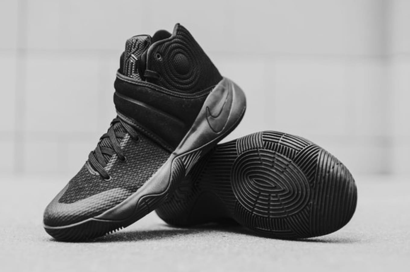 c51ced02b46d1d Nike Basketball blacks out on the latest for the young champ.