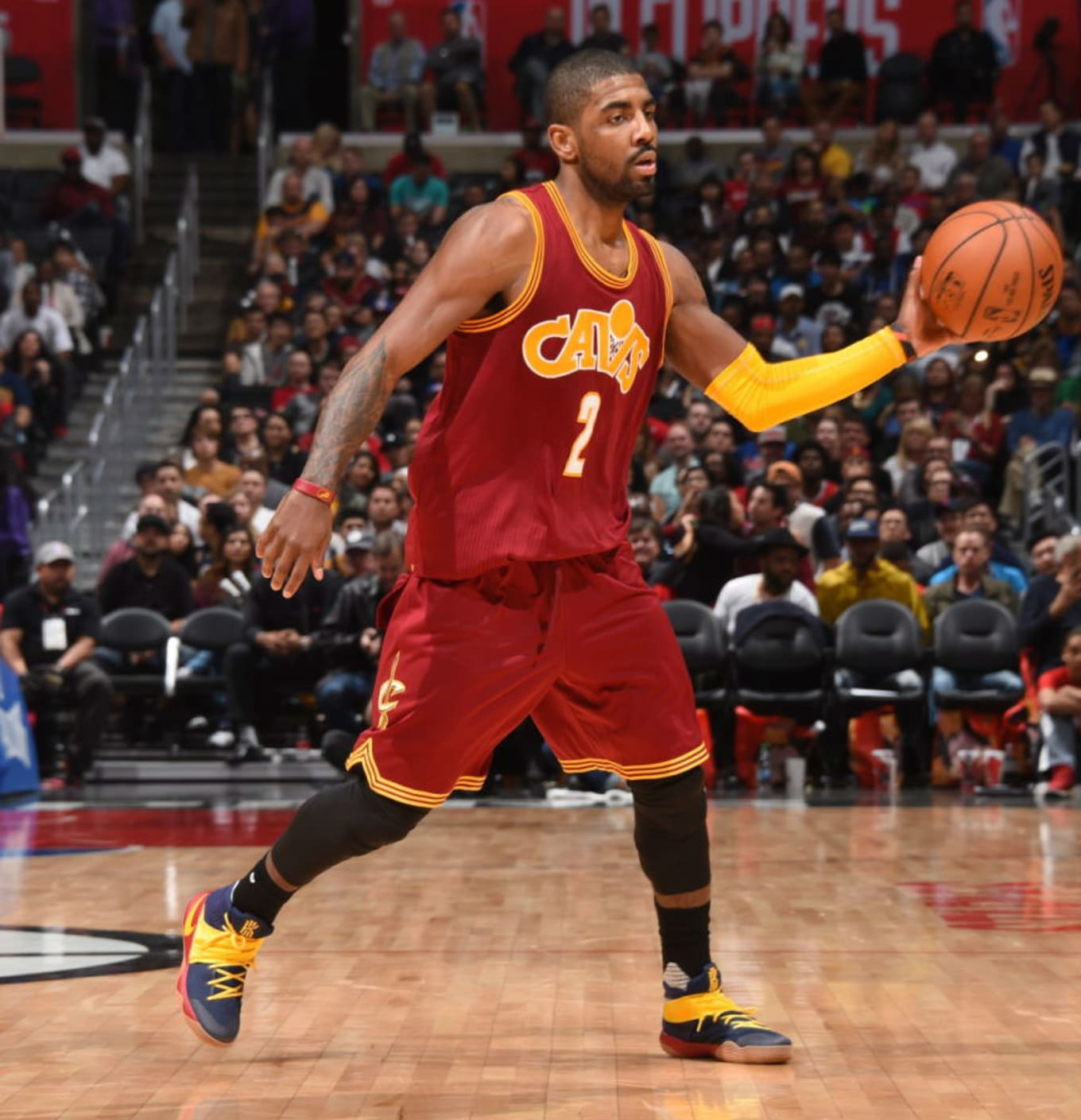 286e89c3805 Kyrie Irving Wearing the