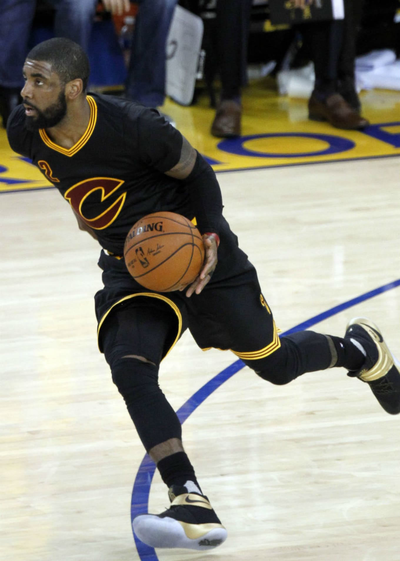 new arrival a2191 d7780 Kyrie Irving Wears the Nike Kyrie 2 in Game 7
