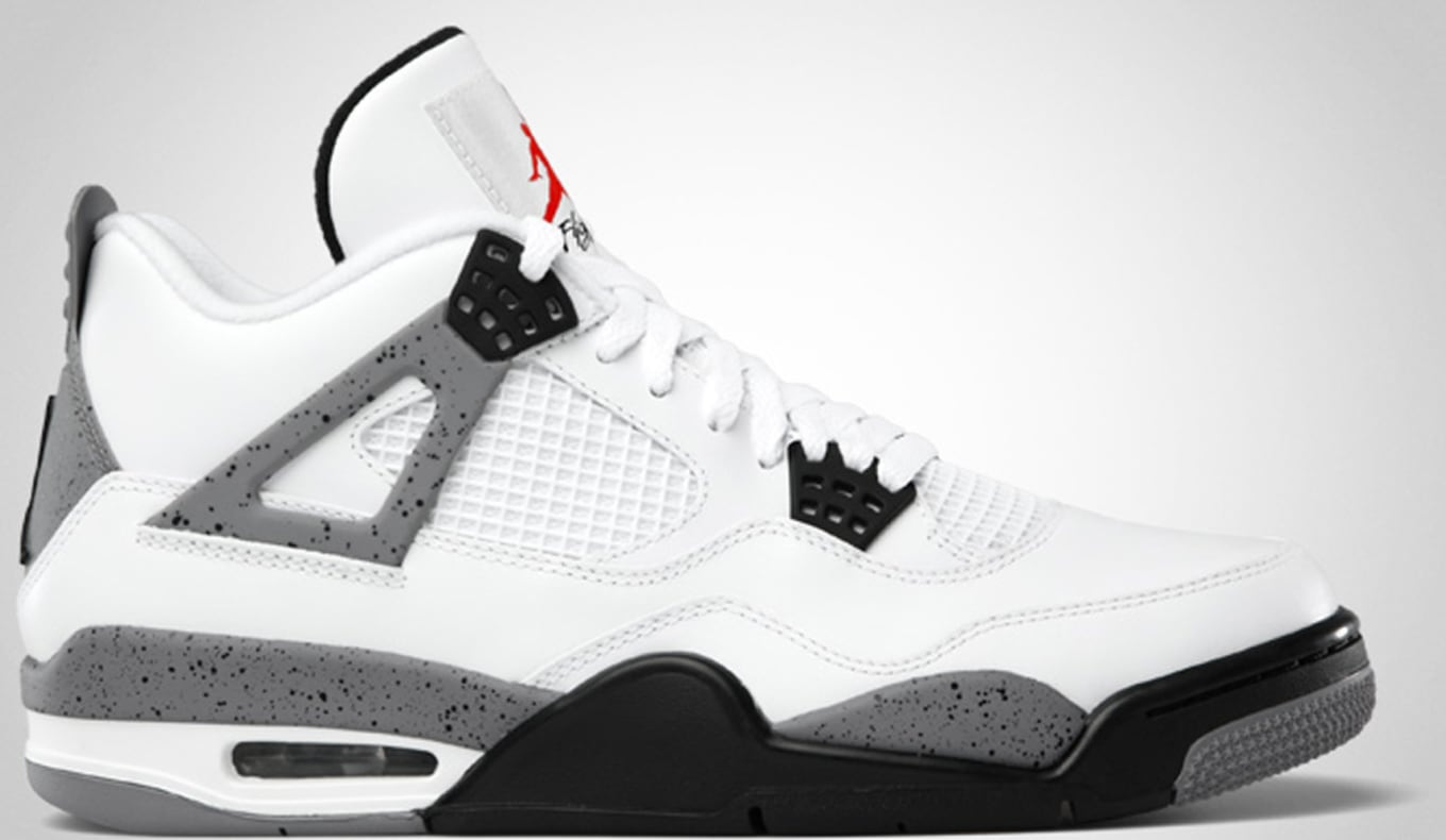 new style f1ea2 207ab Air Jordan 4 Retro White Cement