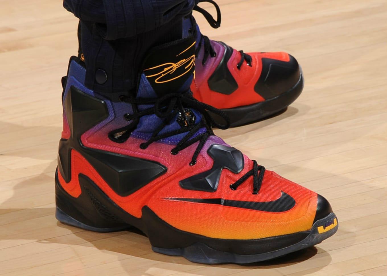 9ec47c3c1e5 Every Sneaker LeBron James Wore in the NBA This Season