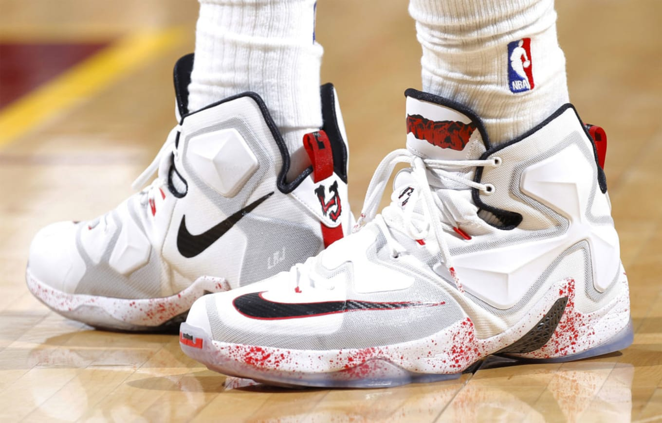 5959a8f7bf50d Every Sneaker LeBron James Wore in the NBA This Season