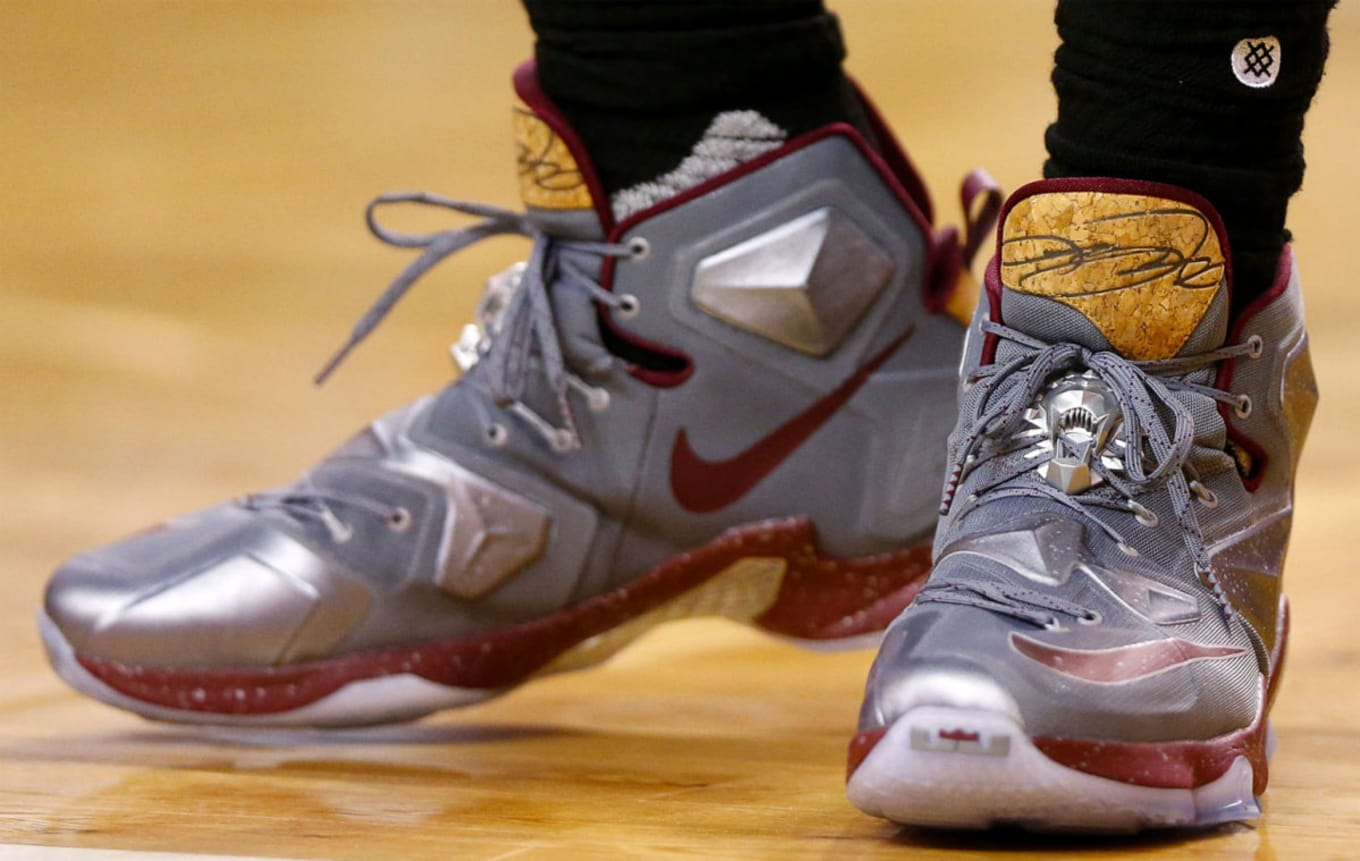 142eefb216d Every Sneaker LeBron James Wore in the NBA This Season