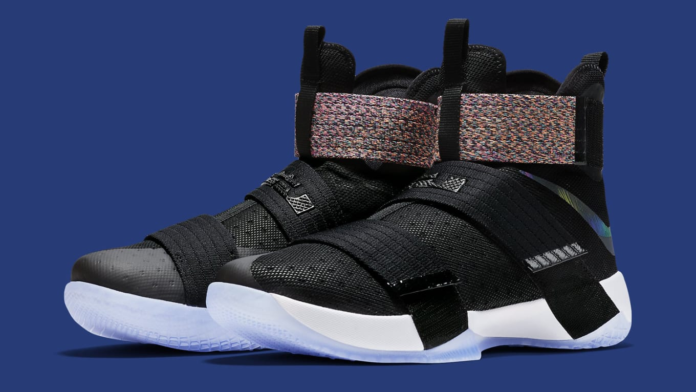 info for 33c9b 67507 Nike LeBron Soldier 10 EP Iridescent | Sole Collector