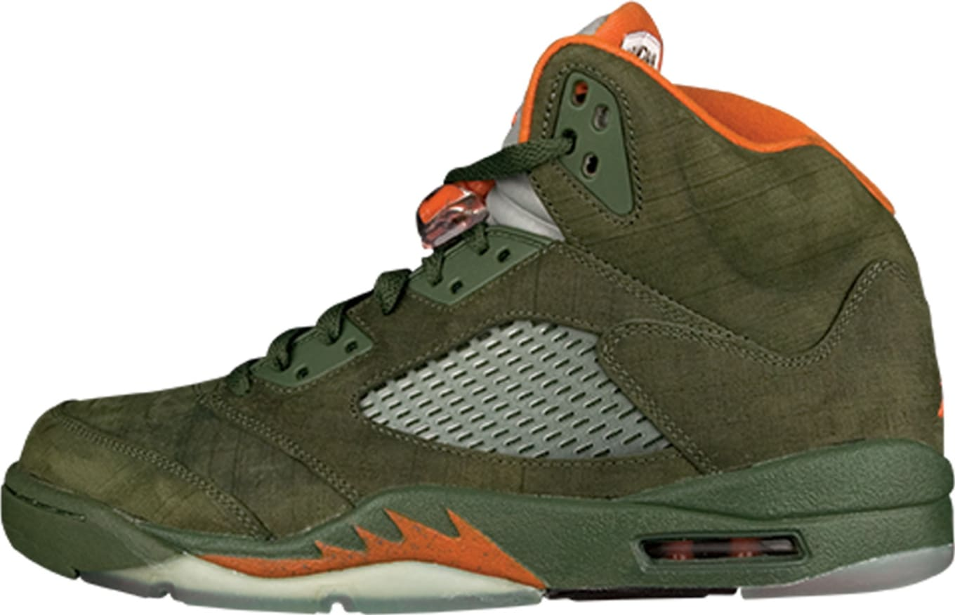 best value 72c28 e9868 Air Jordan 5 Retro LS  Olive