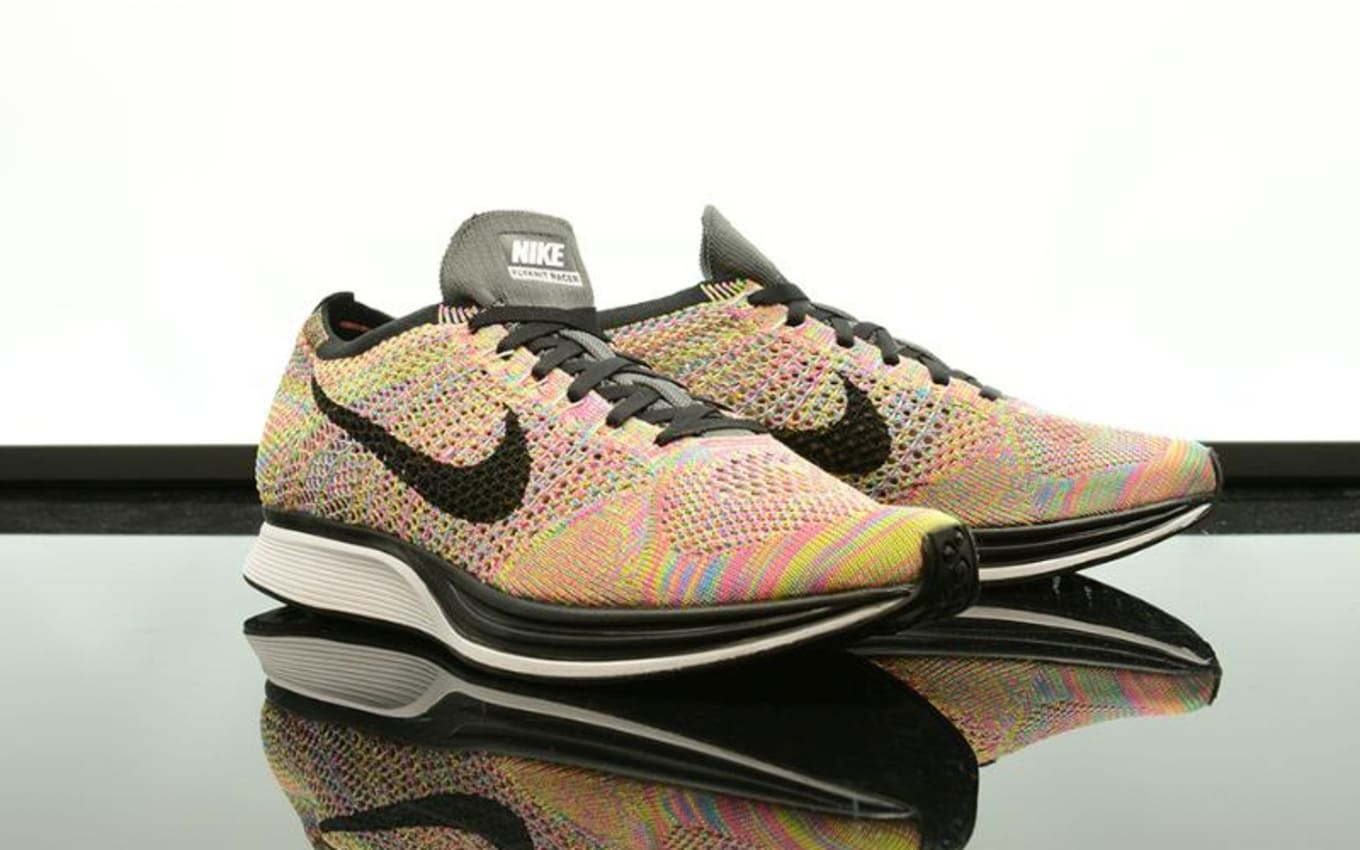 5aaf0102131b More  Multicolor  Flyknit Racers than you can handle.