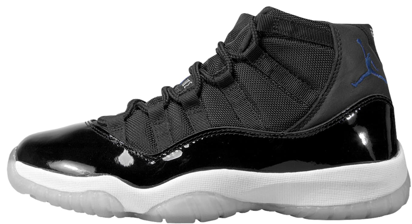 finest selection 2fd0d 1393a Air Jordan 11 Retro Black Varsity Royal White