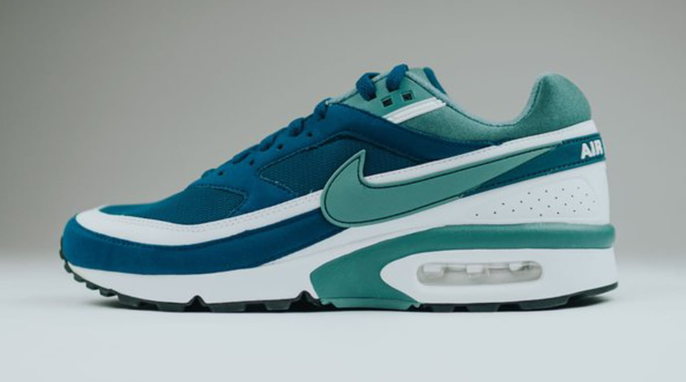 low priced dd28d c7514 Nike Air Max BW Marina Jade White   Sole Collector