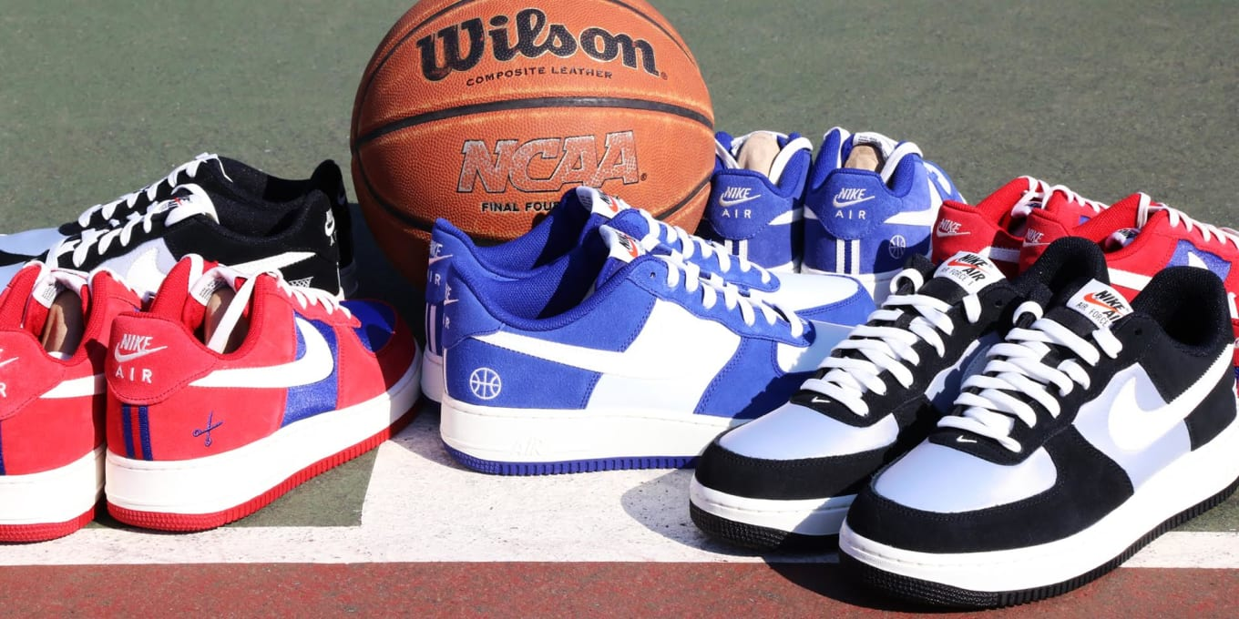 sale retailer 673a7 18a14 March Madness Air Force 1 Pack