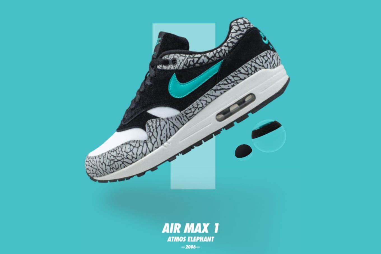 new style 258be 3e737 Nike Air Max 1 x ATMOS
