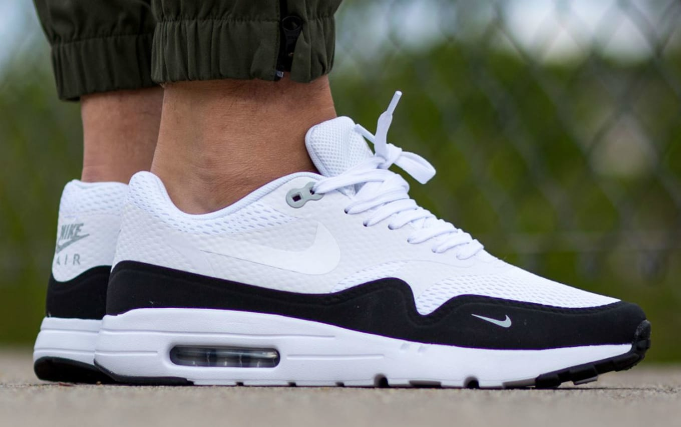 new arrival b3e53 a745b Nike Air Max 1 Essential WhiteBlack-Wolf Grey 819476-101 (1