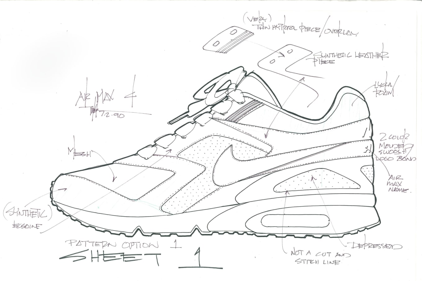 041af03643246e Nike Air Classic BW Sketches   Sole Collector