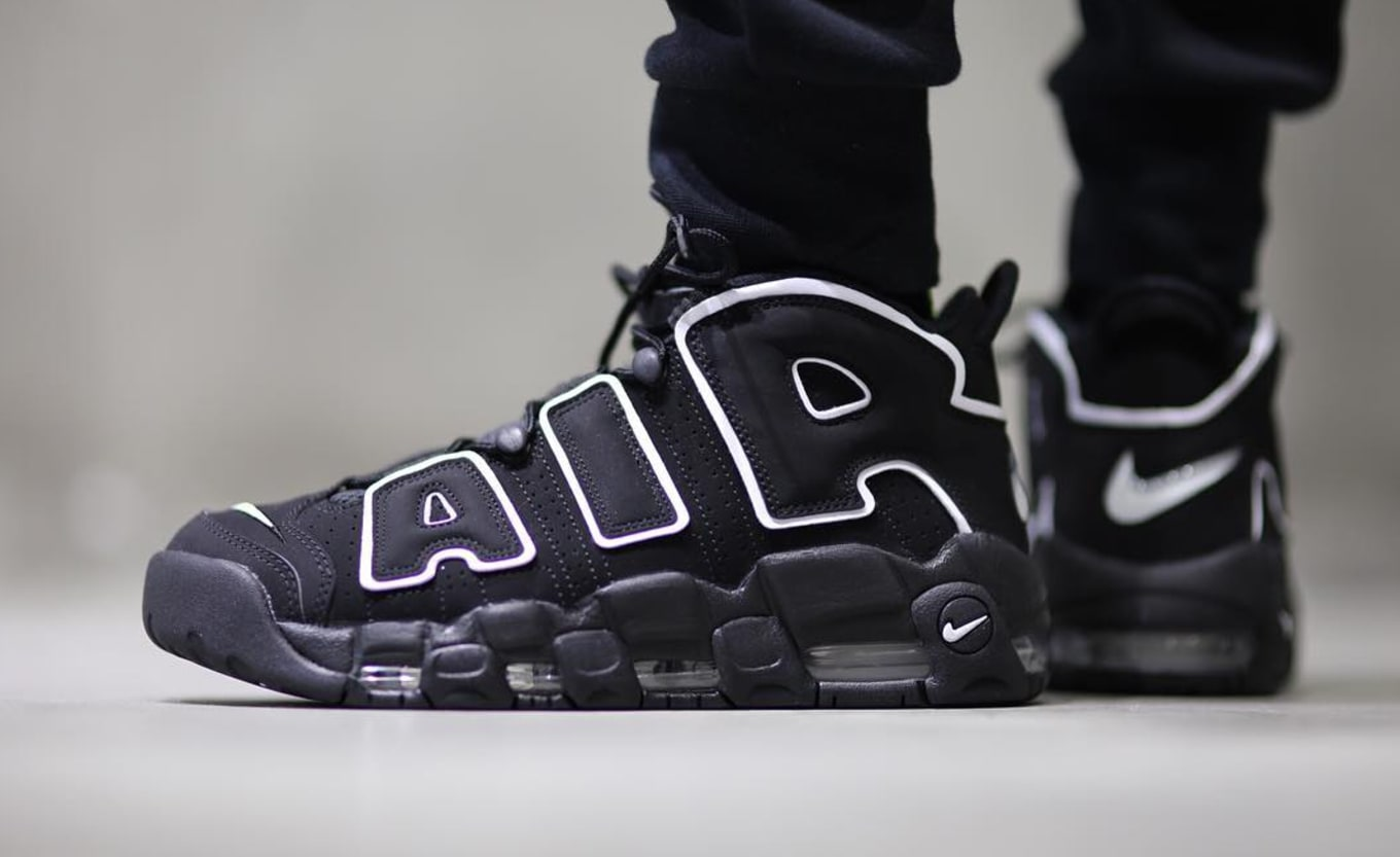 aa2d1100b3a6 Nike Air More Uptempo Scottie Pippen On-Feet