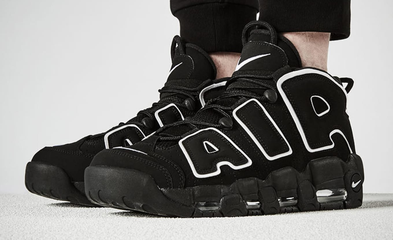 5eaaa415807c1 Scottie Pippen Nike Air More Uptempo Reaction | Sole Collector