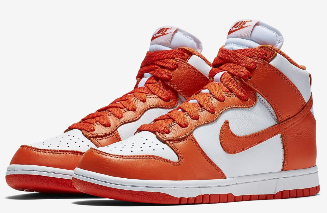 cheap for discount 5b453 9d4b1 Nike Dunk High Be True Syracuse and Villanova  Sole Collecto