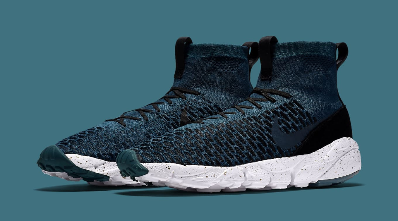 80843025c78e3 Nike Air Footscape Magista Midnight Turquoise | Sole Collector