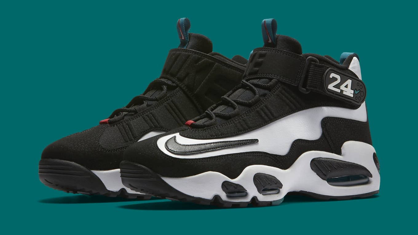 info for 9cca5 8e3d0 Nike Griffey 1 White Black Freshwater | Sole Collector
