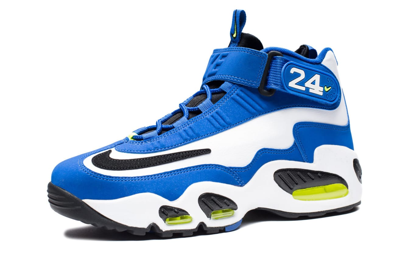 san francisco 9e06e 05fd4 Nike Air Griffey Max 1 Royal White Volt Black